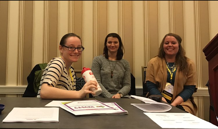 From left: Leily Saadat-Lajevardi from Johnson & Johnson Consumer, Inc. McNeil Consumer Health Care Division, Brittany Dake and Alicia Towery from Jefferson County Drug Prevention Coalition, and Angela Gonzalez from the American Association of Poison Control Centers