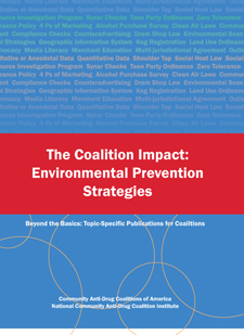 The Coalition Impact: Environmental Prevention Strategies